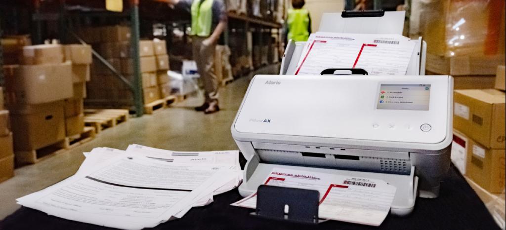 escaner con inteligencia artificial Kodad alaris INFuse
