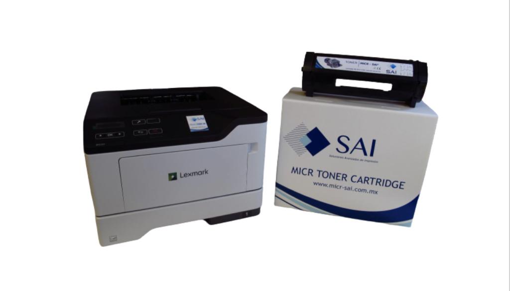 solución de impresión de cheques micr