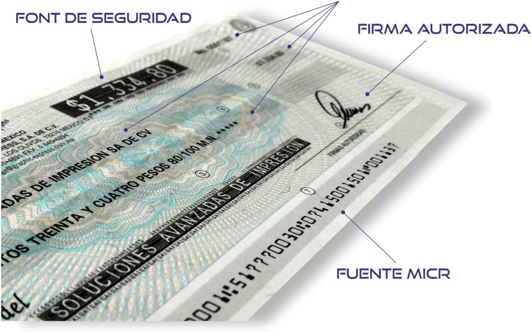 Impresión de cheques MICR. Seguridad y Eficiencia para el Departamento de Tesorería