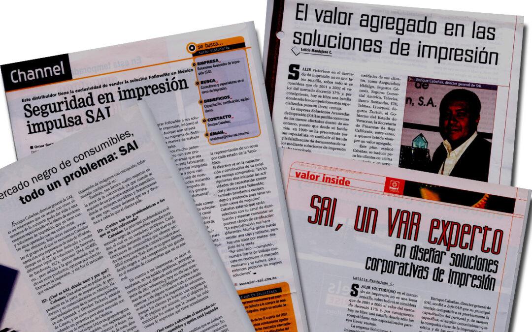 SAI «El líder en soluciones de impresión»