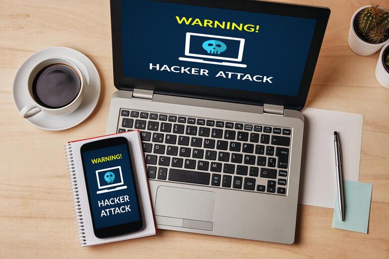 ataque ransomware en telefono celular y computadora personal