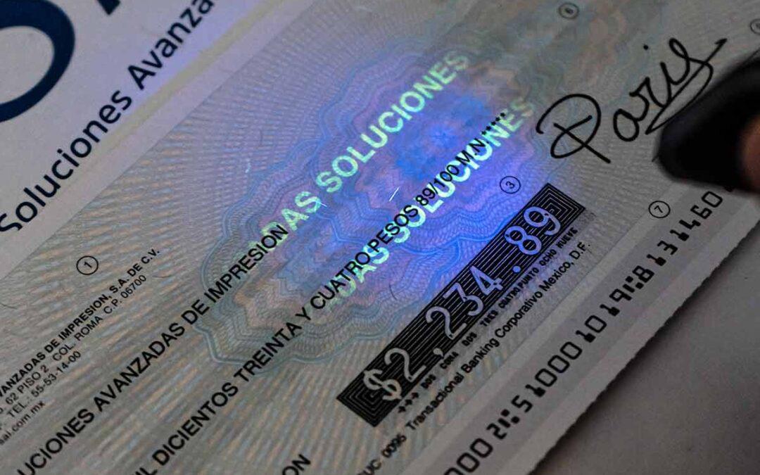 ¿Quieres saber cómo imprimir tus cheques propios?  ¡Nosotros te damos la solución!